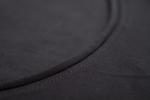 Черная летняя майка алкоголичка с карманом вид ткани