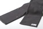 Шарф из плотной ткани с пуговицами